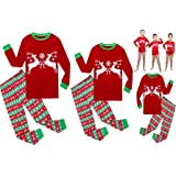 Matching Family Pajamas Christmas Girls and Boys Sleepwears Cotton Kids Clothes Set