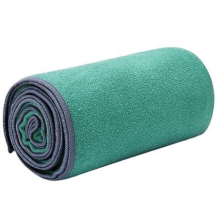 Amazon.com : JKMEOO Microfiber Hot Yoga Towels, Sweat ...