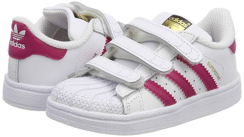 adidas Superstar CF I Zapatillas de Estar por casa Unisex beb/é