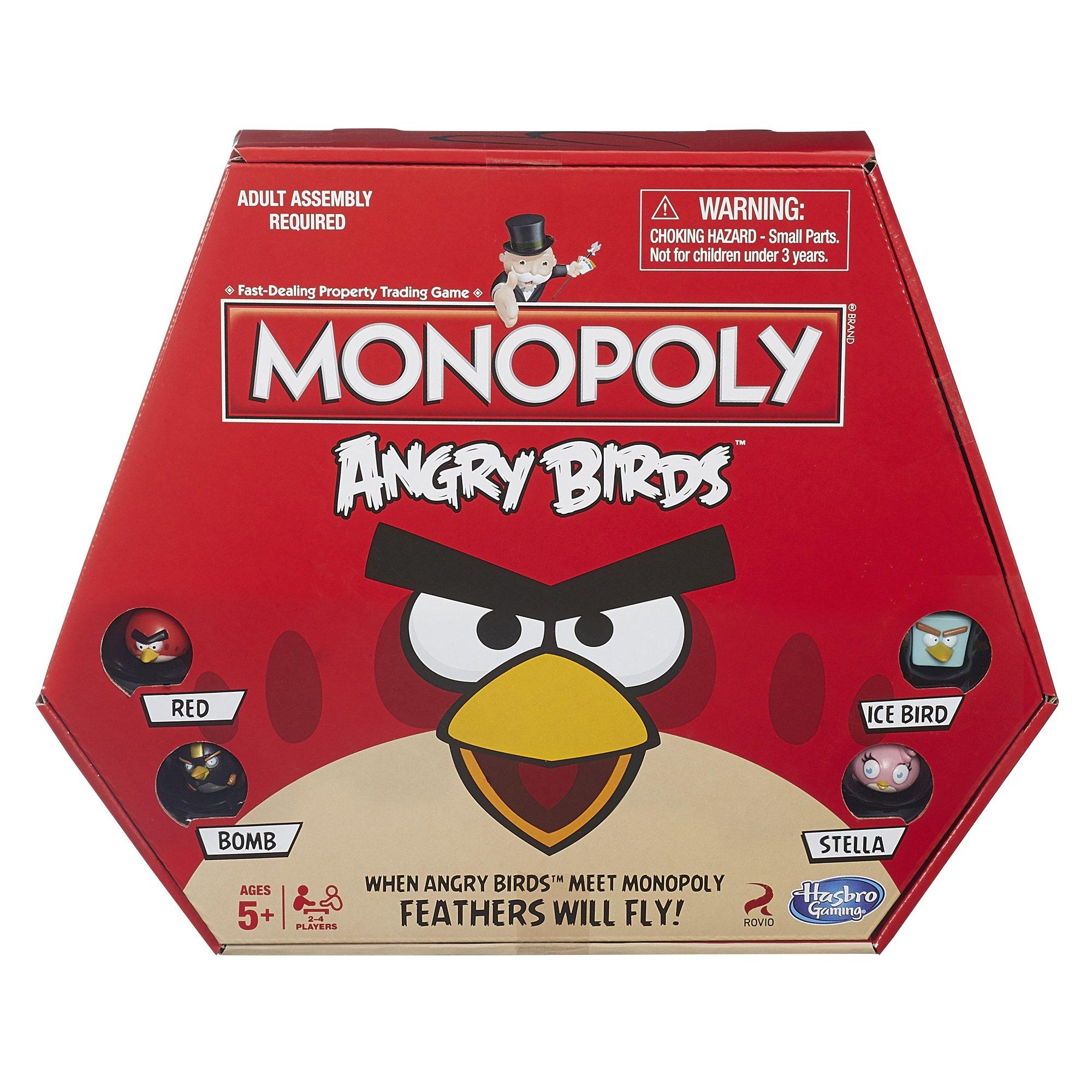 Mua Monopoly Angry Birds Game trên Amazon Mỹ chính hãng 2021
