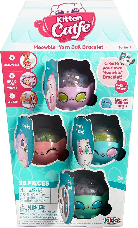 Kitten Catfe Meowble Yarn Ball Bracelet~ Teacup Surprise~New Sealed ~