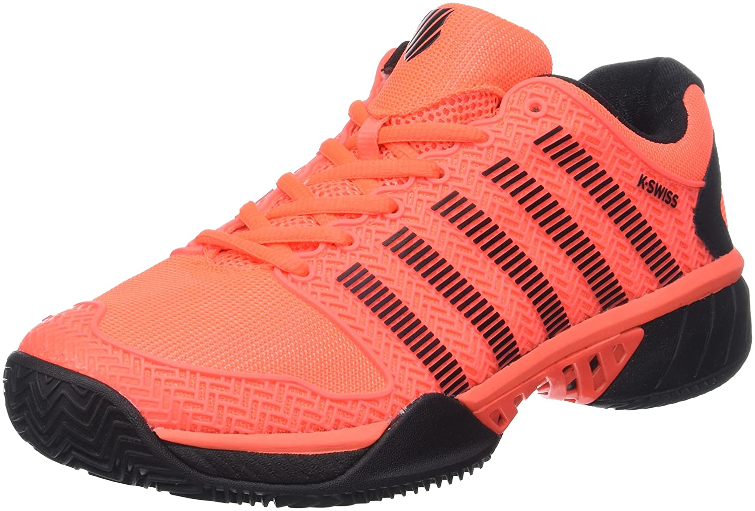 K-Swiss Performance Herren Hypercourt Express Hb Tennisschuhe, Highrise/Black/ Neon Blaze