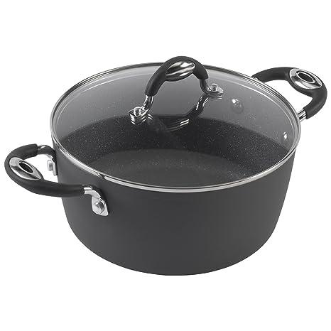 Amazon.com: Bialetti 07552 cacerola de impacto: Kitchen & Dining