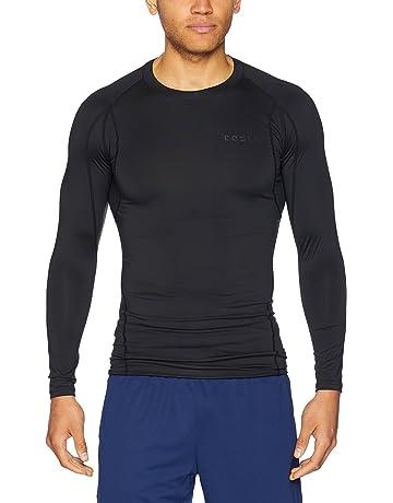 a393b7402dbd6 TSLA Men's Long Sleeve T-Shirt Baselayer Cool Dry Compression Top