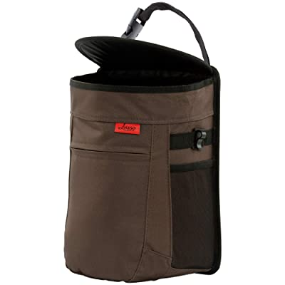 Spill-Proof Car Trash Can | Compact 2.5 Gallon Hanging Garbage Bin with Odor Blocking Technology, Removable Liner & Storage Pockets Keeps Your Truck, Minivan & SUV Looking Sharp & Smelling Fresh: Automotive