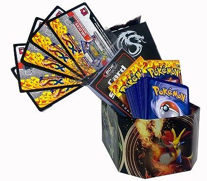 Amazon.com: Pokemon Tin regalo pack W/60 tarjetas Deck Box ...