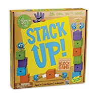 Peaceable Kingdom Stack Up! Award Winning Preschool Skills Builder Game for Kids
