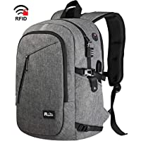 Travel Laptop Backpack, 15.6 Inch Anti Theft with USB Port for Women/Men/College