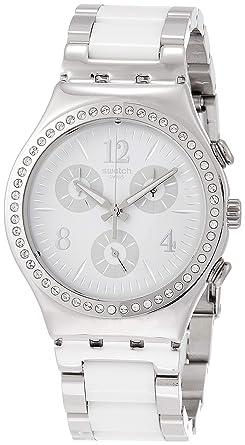 Quarz Edelstahl Damen Uhr Armband Ycs119g Mit Swatch Chronograph QoredCxBW