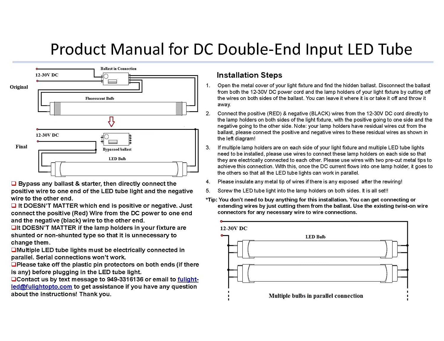 120v led fluorescent tubes wiring diagram ac wiring