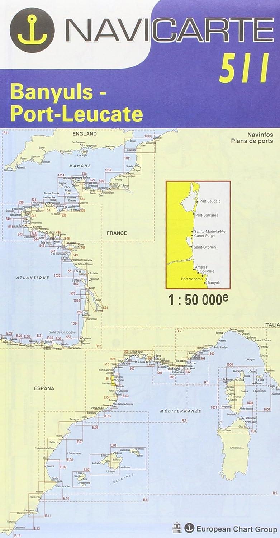 NAVICARTE Carte Marine Méditerrannée