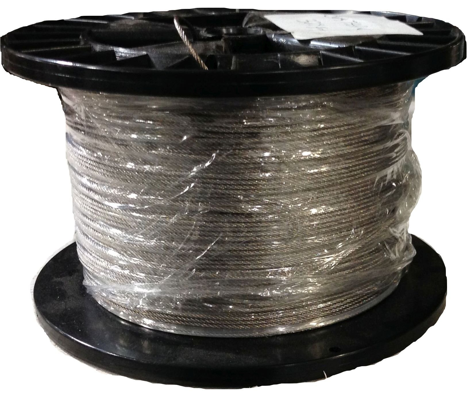 1/32 7x7 Stainless Steel Wire Rope Aircraft Cable T304 250' Reel