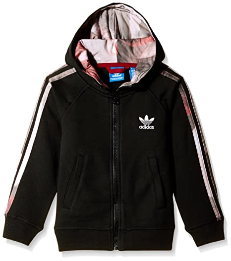 adidas J P Hoodie FL G - Sudadera para niña, Color Negro, Talla 146: Amazon.es: Zapatos y complementos