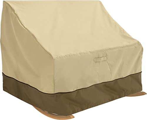 Classic Accessories Veranda Water-Resistant 50 Inch Double-Wide Patio Rocking Chair Cover
