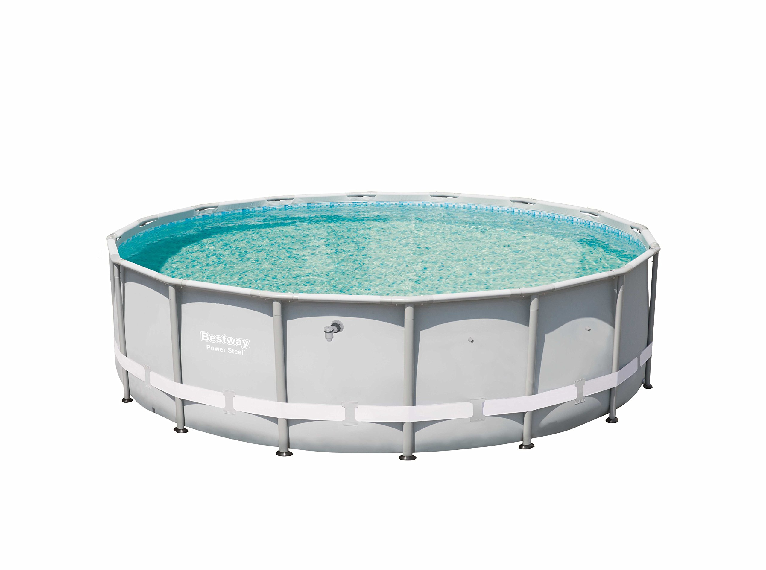 Bestway 13429 Power Steel Swimming Pool, 16' x 48''