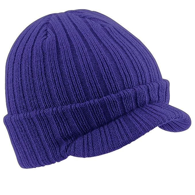 Result - Berretto Invernale a Maglia per Ragazzo (Taglia unica) (Blu navy) Result  Headwear a0bf892e1919