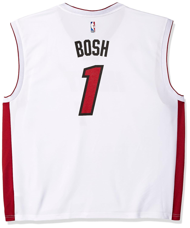 cb898a619b6 NBA Miami Heat Chris Bosh  1 Men s Replica Pride Jersey