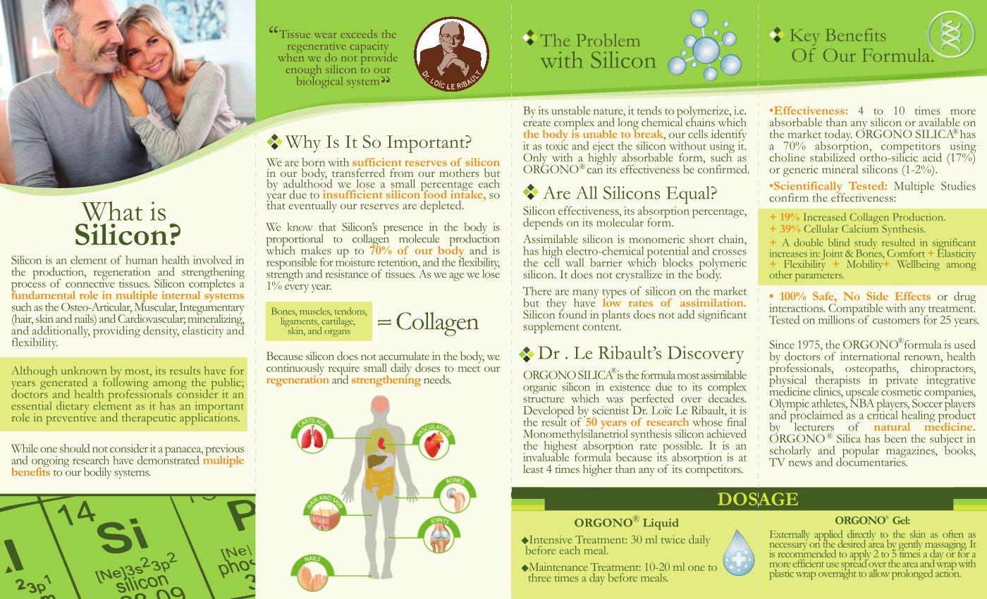 ORGONO Organic Silica Powder 120 gr  (4 23 oz)