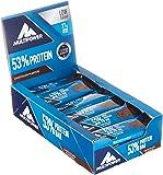 Multipower Eiweißriegel Box Schoko Fitnessriegel 53% Protein Bar, 24 x 50 g