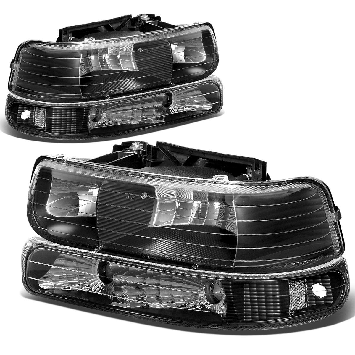 All Chevy 95 chevy headlights : Amazon.com: Chevy Silverado/Tahoe Replacement Headlight/Bumper 4 ...