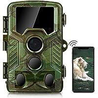 COOLIFE WiFi Bluetooth Cámaras de Caza 4K 32 MP Distancia de Disparo de hasta 25m Fototrampeo Velocidad de Disparo 0.1s…