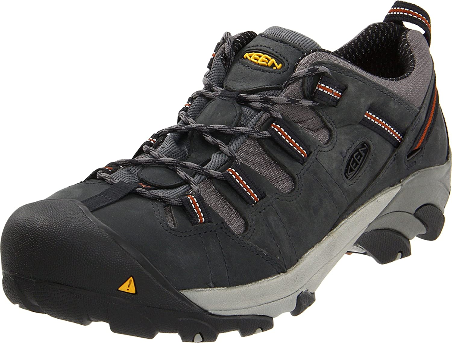 828a5a62d83 KEEN Utility Men's Detroit Low Steel Toe Work Shoe