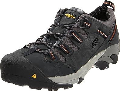 0d349dfa6d Amazon.com  KEEN Utility Men s Detroit Low Steel Toe Work Shoe  Shoes
