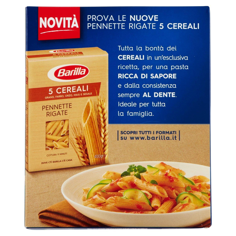 Pasta Barilla Penne Rigate n.73 500g (4UNIDADES): Amazon.es: Alimentación y bebidas