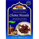 Rani Chana Masala (Garbanzo Curry 15-Spice Blend) 3.5oz (100g) ~ All Natural | Vegan | No Colors | Gluten Friendly Ingredient