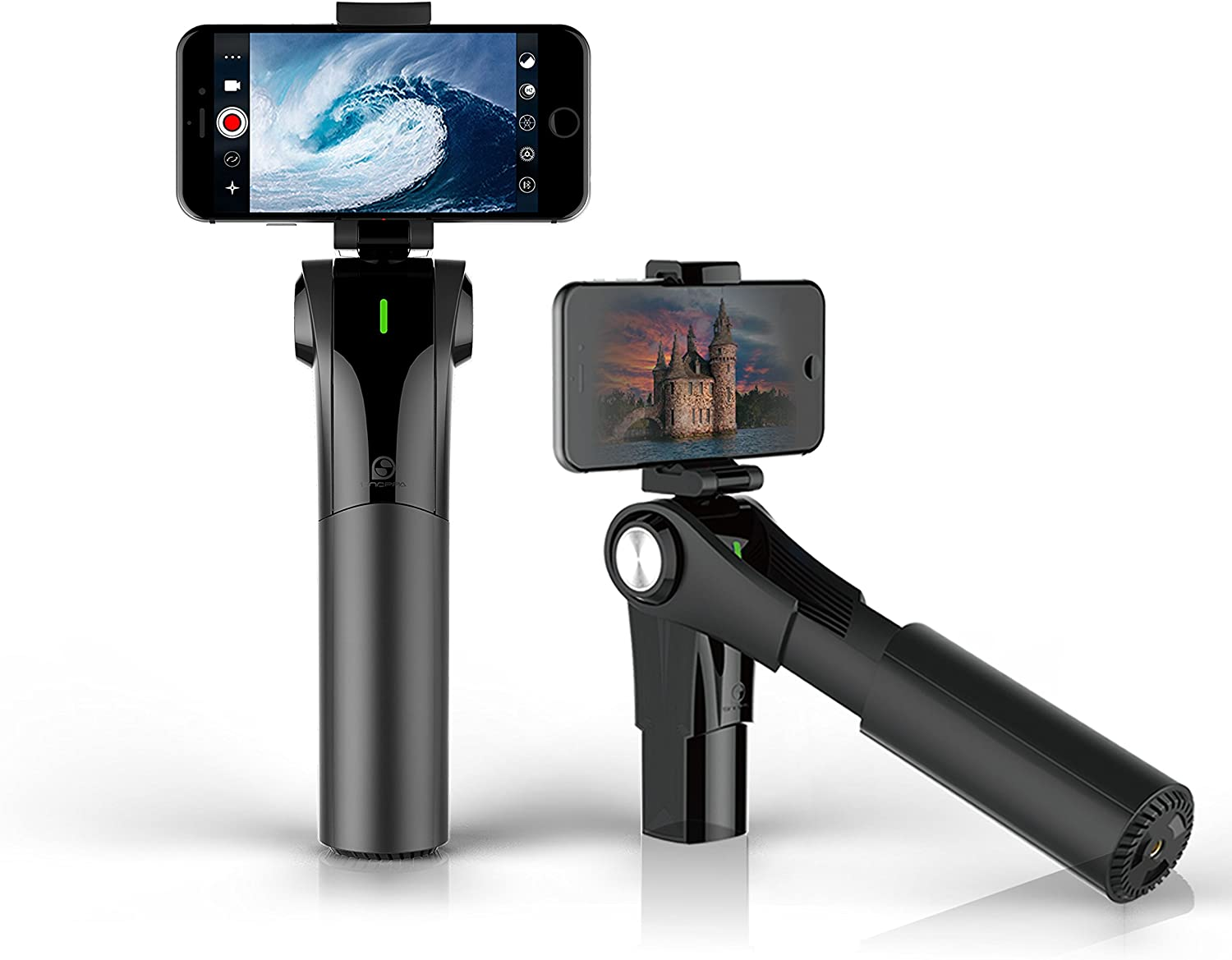 Amazon Com Snoppa M1 3 Axis Gimbal Stabilizer For Iphone Android Phone Create Smooth Video With Your Smartphone Works With All Iphone Android Including Iphone 8 8 Plus 7 Plus 6