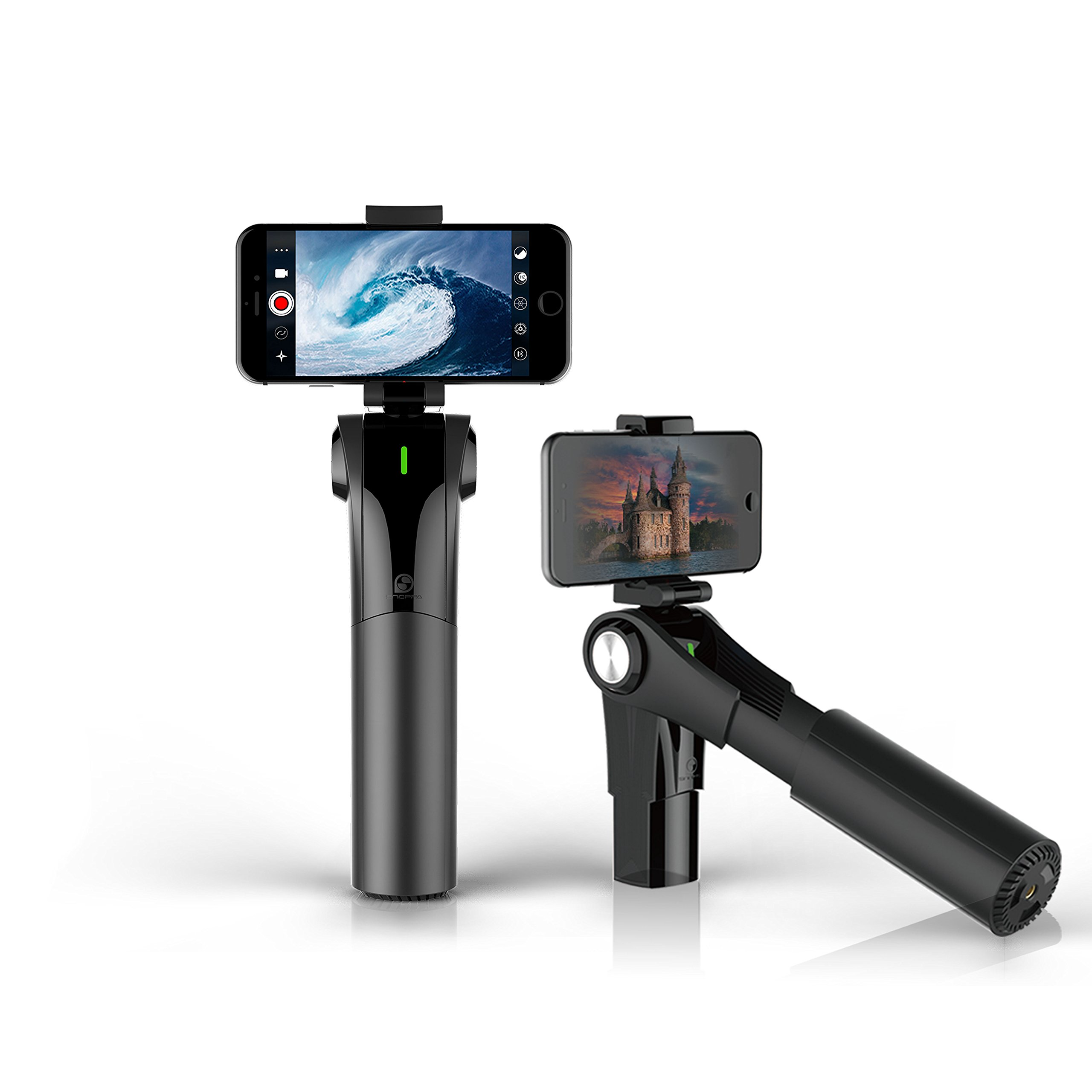 Snoppa M1 3 Axis Handheld Gimbal Stabilizer with APP Feature and 4 Working Modes for Smartphone and iPhone and Android Including iPhone X 8 Plus 7 6 Samsung Galaxy S9 S8 S7 S6
