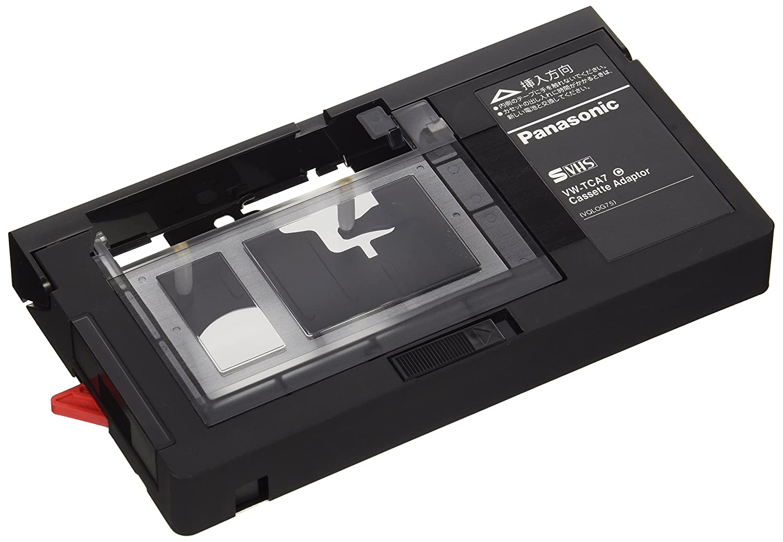 panasonic vhs cassette adapter vw tca7 from japan. Black Bedroom Furniture Sets. Home Design Ideas