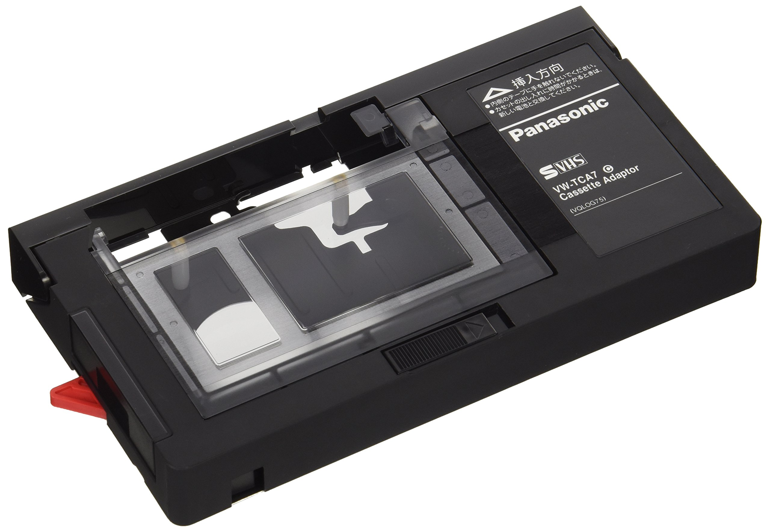 PANASONIC VHS Cassette Adapter VW-TCA7 from Japan - International Version (No Warranty)
