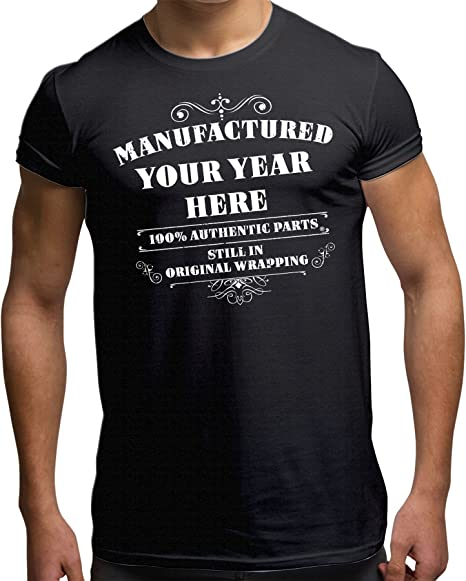 MADE IN THE BLACK COUNTRY MENS T-SHIRT GIFT CHRISTMAS BIRTHDAY 18TH 30TH 40TH