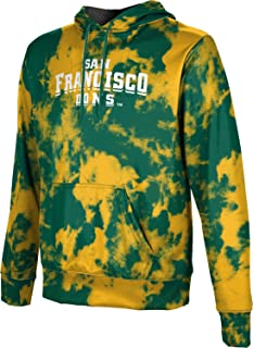 San Diego State University Mens Pullover Hoodie School Spirit Sweatshirt Grunge