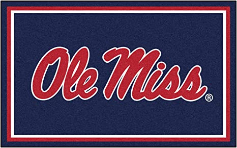 Chrome Team Color One Size Color Hitch Ole Miss FANMATS NCAA Mississippi Old Miss Rebels University of Mississippi