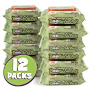 Boogie Wipes, Wet Nose Wipes for Kids and Baby, Allergy Relief, Soft Natural Saline Hand and Face Saline Tissue with Aloe, Chamomile and Vitamin E, Fresh Scent, 30 Count (Pack of 12)