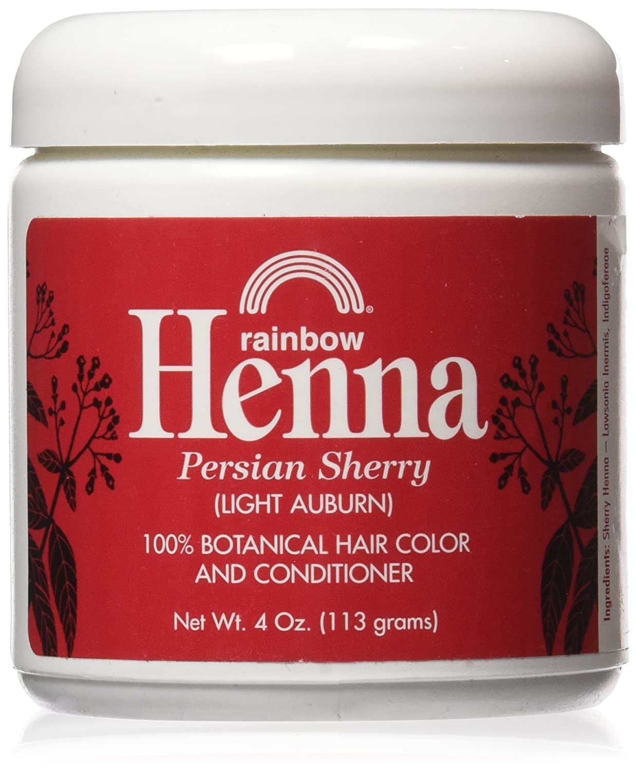 Rainbow Research Henna Hair Color and Conditioner Persian Sherry - 4 oz hhh-kyyy-tra-rat6076