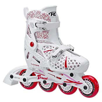Roller Derby Girls Tracer Adjustable Rollerblades