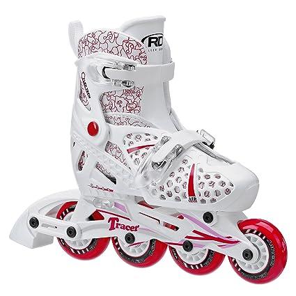 Roller Derby Girls Tracer Adjustable Inline Skate, Medium adjustable size 2-5