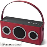 Bluetooth Speakers Portable, GGMM Wireless Speaker WIFI Enabled Smart Speakers Stereo Sound Home Audio Speakers with Enhanced Bass for Stream Online Music [Apple Airplay Certified]