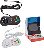 Game Monkey Neogeo Mini Pro Player Pack USA Version - Includes 2 Game Pads (1 Black & 1 White) and HDMI Cable - Neo Geo Pock