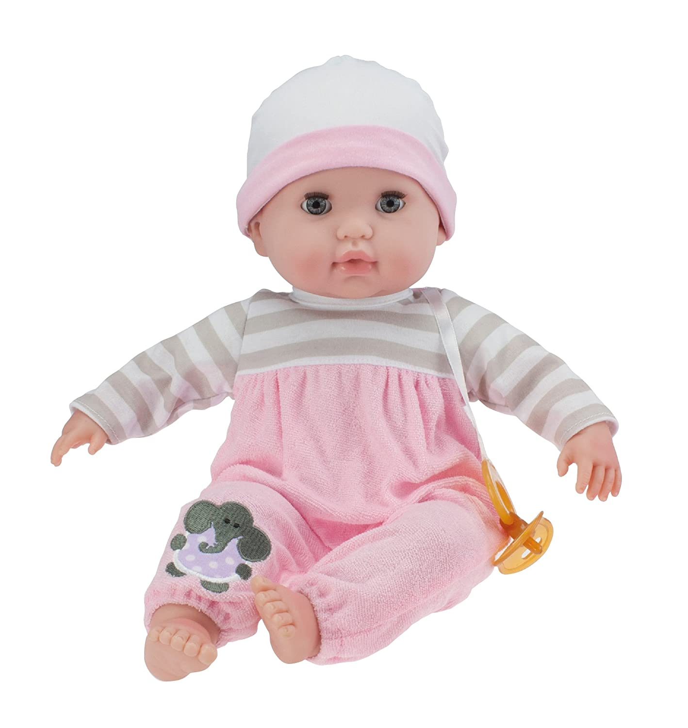 "Amazon Berenguer Boutique 15"" Soft Body Baby Doll Pink 10"