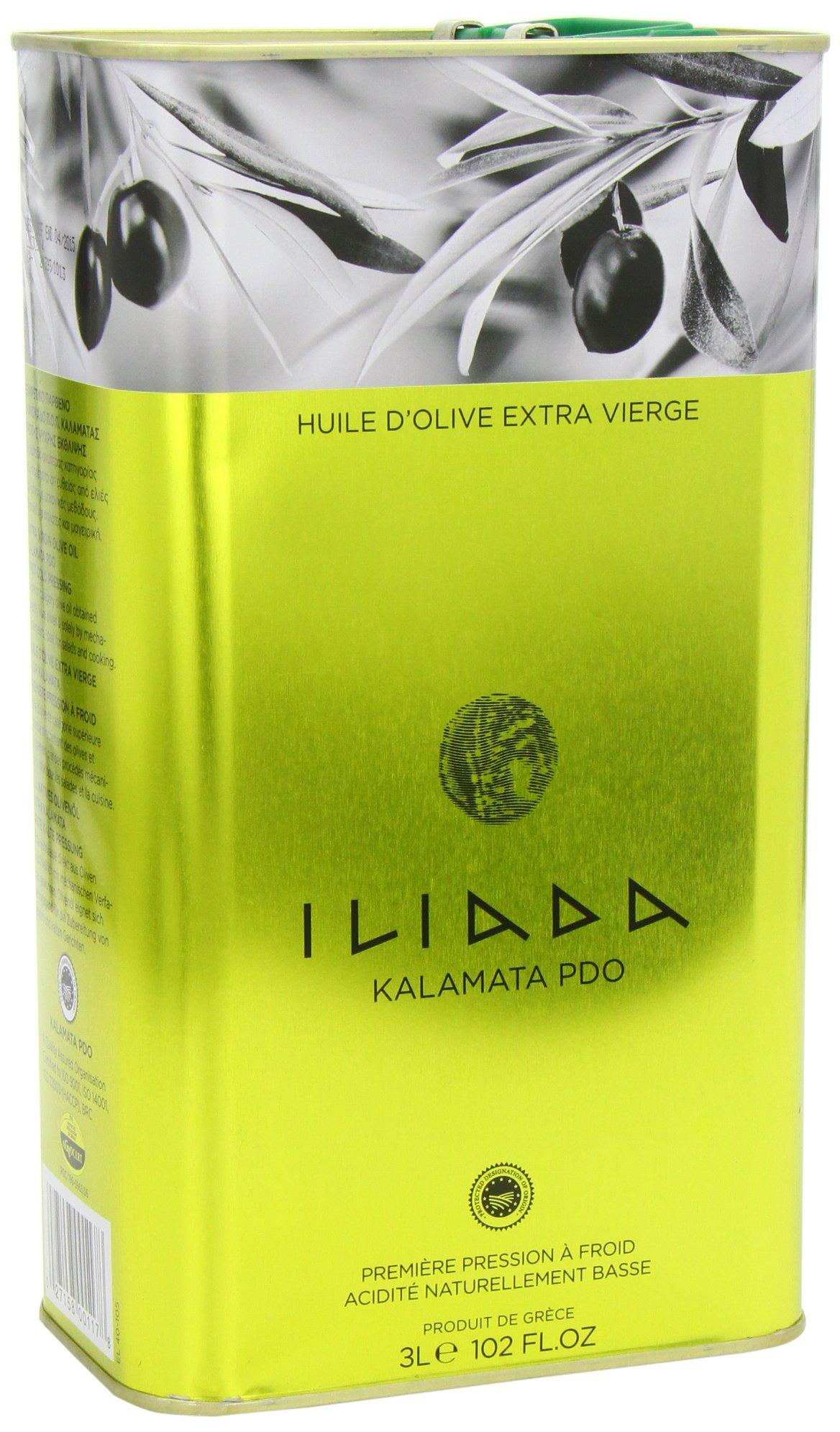 Iliada Extra Virgin Olive Oil Tin, 3 Liter by Iliada (Image #6)