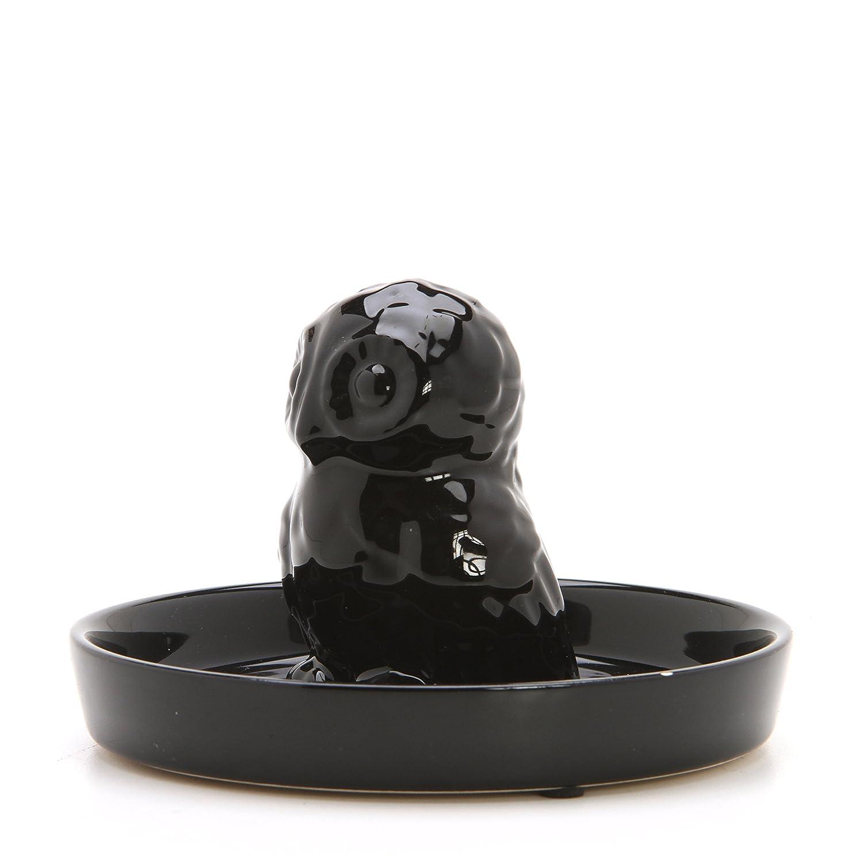 3x14.8x21 cm Plastica BLU Cobalto Trasparente Guzzini On The go Borraccia Ripples