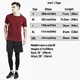 Akilex Mens Running Dry Fit T-Shirt Athletic