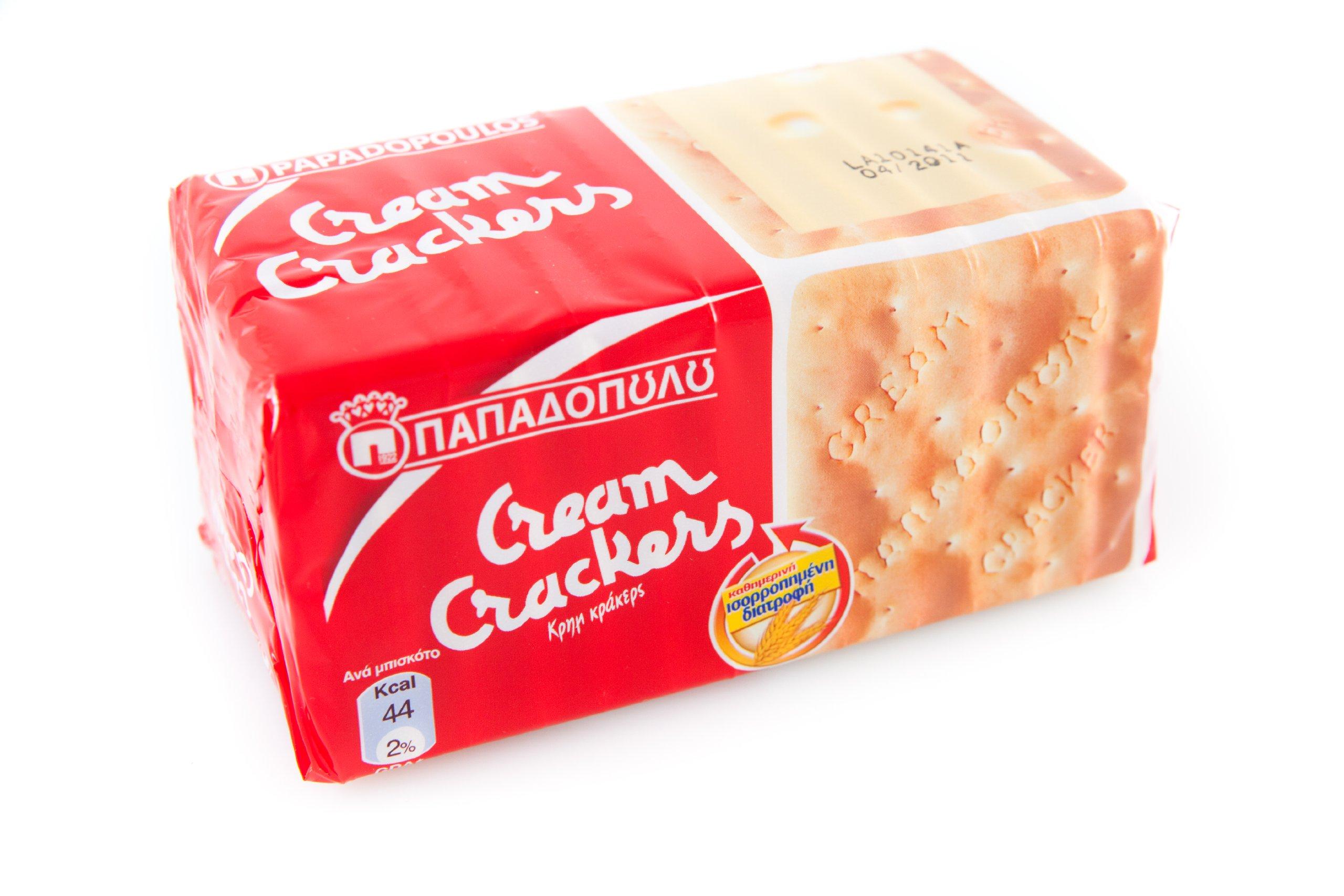 Papadopoulos Cream Crackers