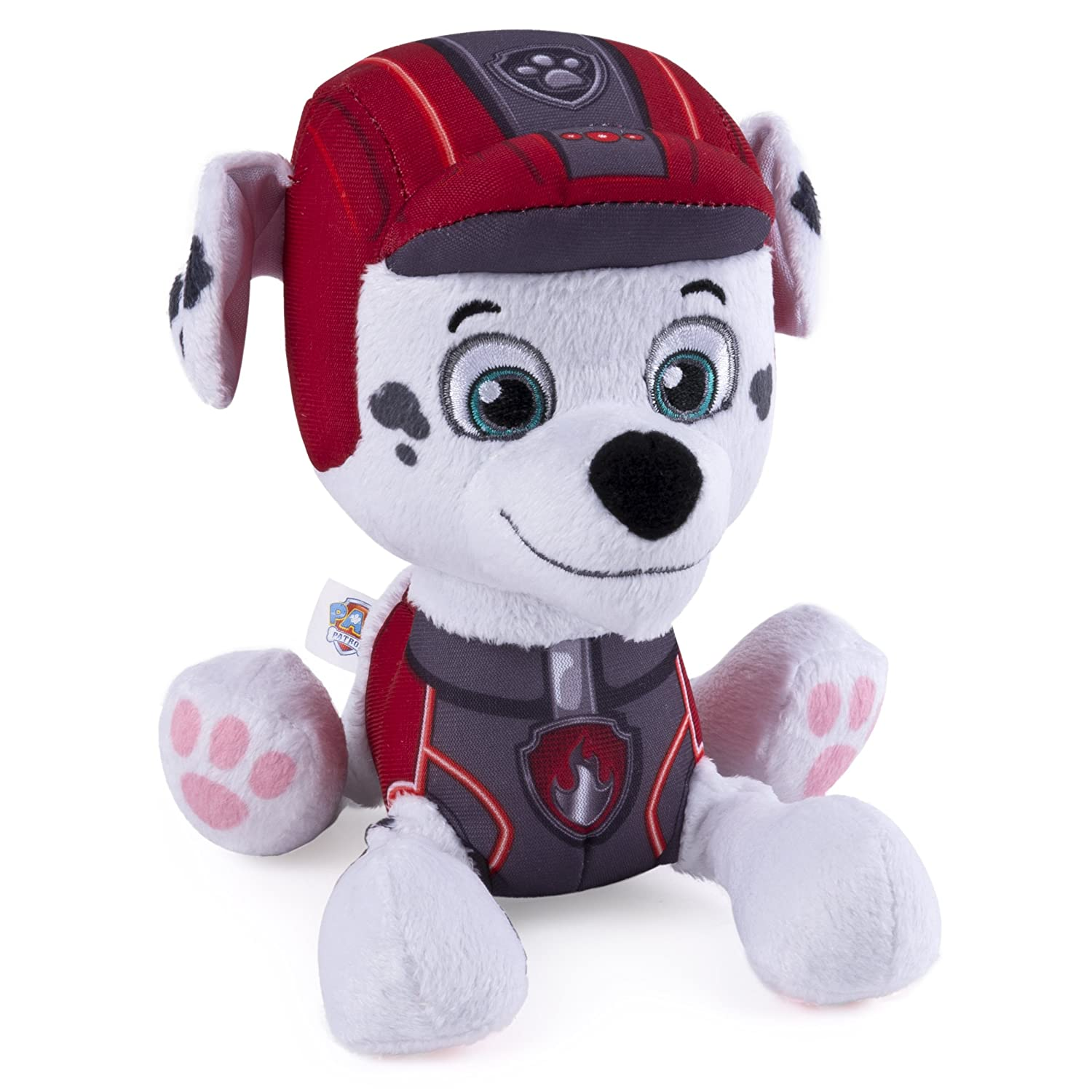"Paw Patrol - Mission Paw - 8"" Plush - Marshall Spinmaster -- Import Yantian 20083016"