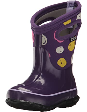 3b715aa819355 Bogs Kids Classic High Waterproof Insulated Rubber Rain and Winter Snow Boot  for Boys