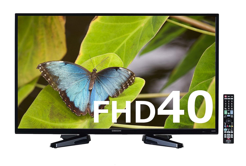 オリオン 40V型 液晶 テレビ RN-40DG10 フルハイビジョン 外付HDD録画対応 B01JCIYZYM  本体のみ